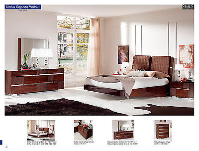 ESF Status Caprice Bedroom Set King Bed Modern Contemporary Made in Italy