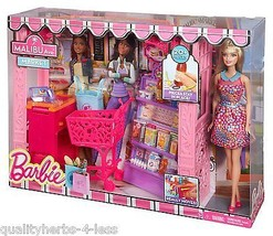 Mattel Barbie Life in The Dreamhouse Malibu Grocery Store & Doll Playset... - $395.50