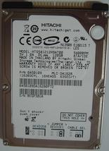 """HTS541212H9AT00 Hitachi TravelStar 120GB 5.4KRPM 2.5"""" IDE 44PIN 9.5MM Hard Drive"""
