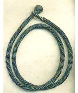 Black Beaded Rope Choker  - $32.40
