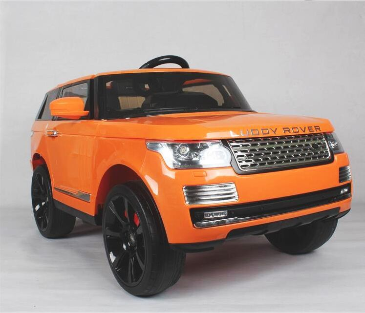 range rover style kids ride on battery powered electric car with remote control ride on toys. Black Bedroom Furniture Sets. Home Design Ideas