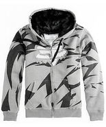 MENS FOX RACING ICE SHARDS SASQUATCH FAUX FUR HEAVY HOODIE JACKET SMALL ... - $79.99