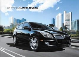 2011 Hyundai ELANTRA TOURING sales brochure catalog 11 US GLS SE - $6.00