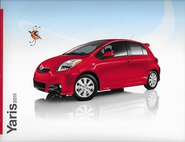 2011 Toyota YARIS sales brochure catalog 11 US - $6.00