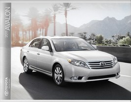 2011 Toyota AVALON sales brochure catalog 11 US Limited - $9.00