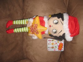 2012 BETTY BOOP CHRISTMAS PEACE ON EARTH Brand New Licensed Plush NWT Ta... - $7.99