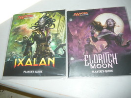 Players Guide lot of 2  IXALAN and eldritch moon lot of 2  mtg NEW - $8.98