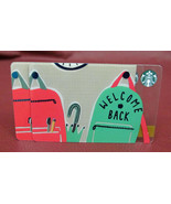Lot of 2 Starbucks 2017 WELCOME BACK Gift Cards New with Tags - $8.87