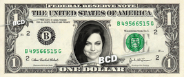 AMY LEE Evanescence Lynn Hartzler on REAL Dollar Bill Cash Money Bank Note - $4.44