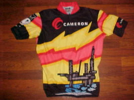 VOmax Cameron Yellow Black Red  Men Bike / Cycling Jersey S - $20.25