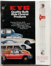 1988 KYB Quality Built Ried Control Products Catalog Shocks-Struts-Cartr... - $14.80