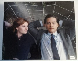 Tobey Maguire + Kirsten Dunst Hand Signed 8x10 Photo COA Spiderman - $99.99