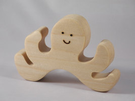 Wooden Octupus display - $5.50