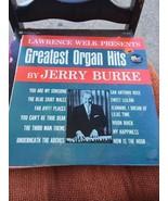 Jerry Burke Greatest Organ Hits LP 33 Music Record Album Vinyl Musica - $4.26