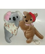 50% off! Australian Wildlife Toys Koala Cub and Kangaroo Joey NWT - $6.00