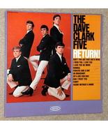Dave Clark Five Return Mistake Album LP Mono USA Rare - $30.00