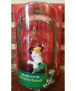 Peanuts Snoopy Dog Woodstock NIP Clip On Bobble... - $11.99