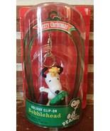 Peanuts Snoopy Dog Woodstock NIP Clip On Bobble Head Ornament Collectibl... - $11.99