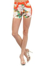 Fashion Mic Womens Summer Shorts (large, paisley floral) - $17.81