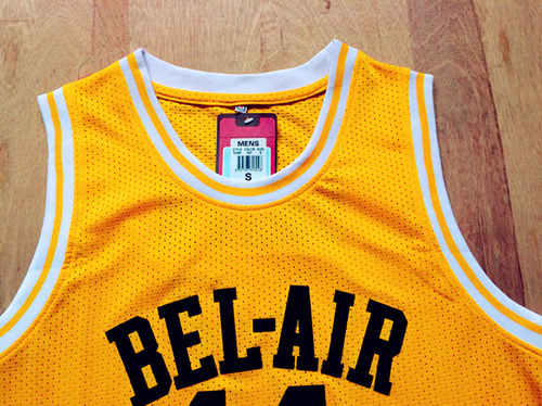 Will Smith  14 Gold Bel-Air Academy Fresh Prince of Bel-Air Jersey a0b354f2c
