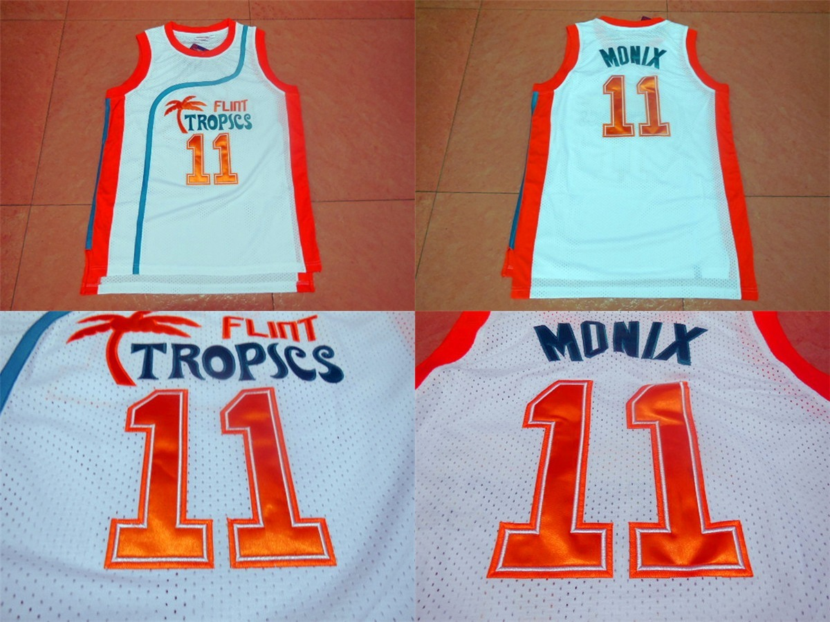3f6702a95e3 Download. Download. Previous.  11 Ed Monix Mens Flint Tropics White  Basketball Jersey (Mesh) Semi-Pro