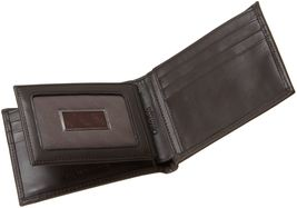 Calvin Klein Ck Men's Leather Bifold Id Wallet Key Chain Set Rfid 79220 image 3