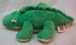 "TY 2005 Pluffies VERY SOFT GREEN ALLIGATOR 12"" Plush Stuffed Animal TOY - $18.32"