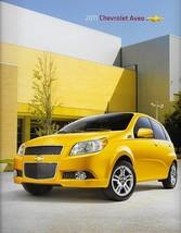 2011 Chevrolet AVEO brochure catalog US 11 Chevy Aveo5 LS LT - $6.00