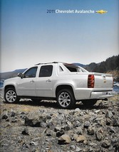 2011 Chevrolet AVALANCHE sales brochure catalog US 11 Chevy LS LT LTZ - $8.00