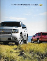 2011 Chevrolet TAHOE and SUBURBAN brochure catalog US 11 Chevy LTZ HYBRID - $8.00
