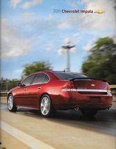 2011 Chevrolet IMPALA sales brochure catalog US 11 Chevy LS LT LTZ - $6.00