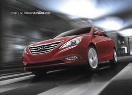 2011 Hyundai SONATA 2.0T brochure catalog US 11 Turbo SE Limited - $6.00