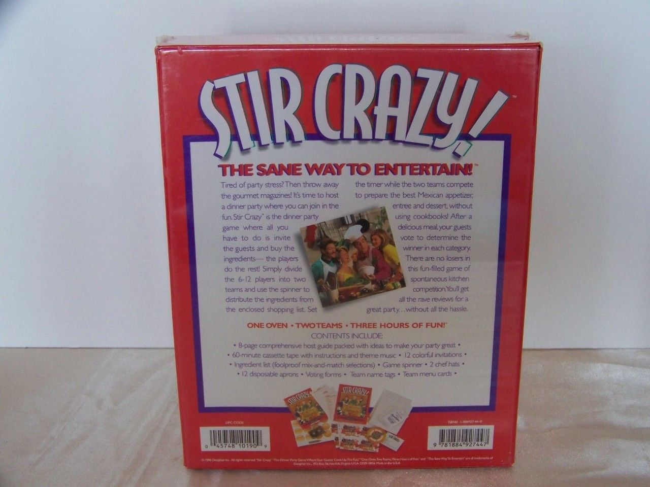 Stir Crazy Mexican Dinner Party Game By And 39 Similar Items