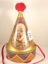 "Vintage ""Dunce Cap"" One of a Kind Art Piece Christmas Decoration Papier ... - $19.95"