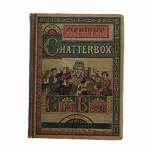 Antique 1881 American Chatterbox Children's Annual Gift Book Illustrated... - $30.81