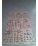 "***JOE BARRY ""J.B."" CARROLL***   Lot of 9 APBA Basketball Game Cards - $7.99"