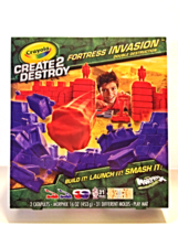 Crayola Create 2 Destroy Fortress Invasion Double Destruction Morphix Mo... - $14.00