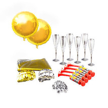Party Celebration Kit Birthday New Years Eve Decoration Supplies Silver ... - $42.06+