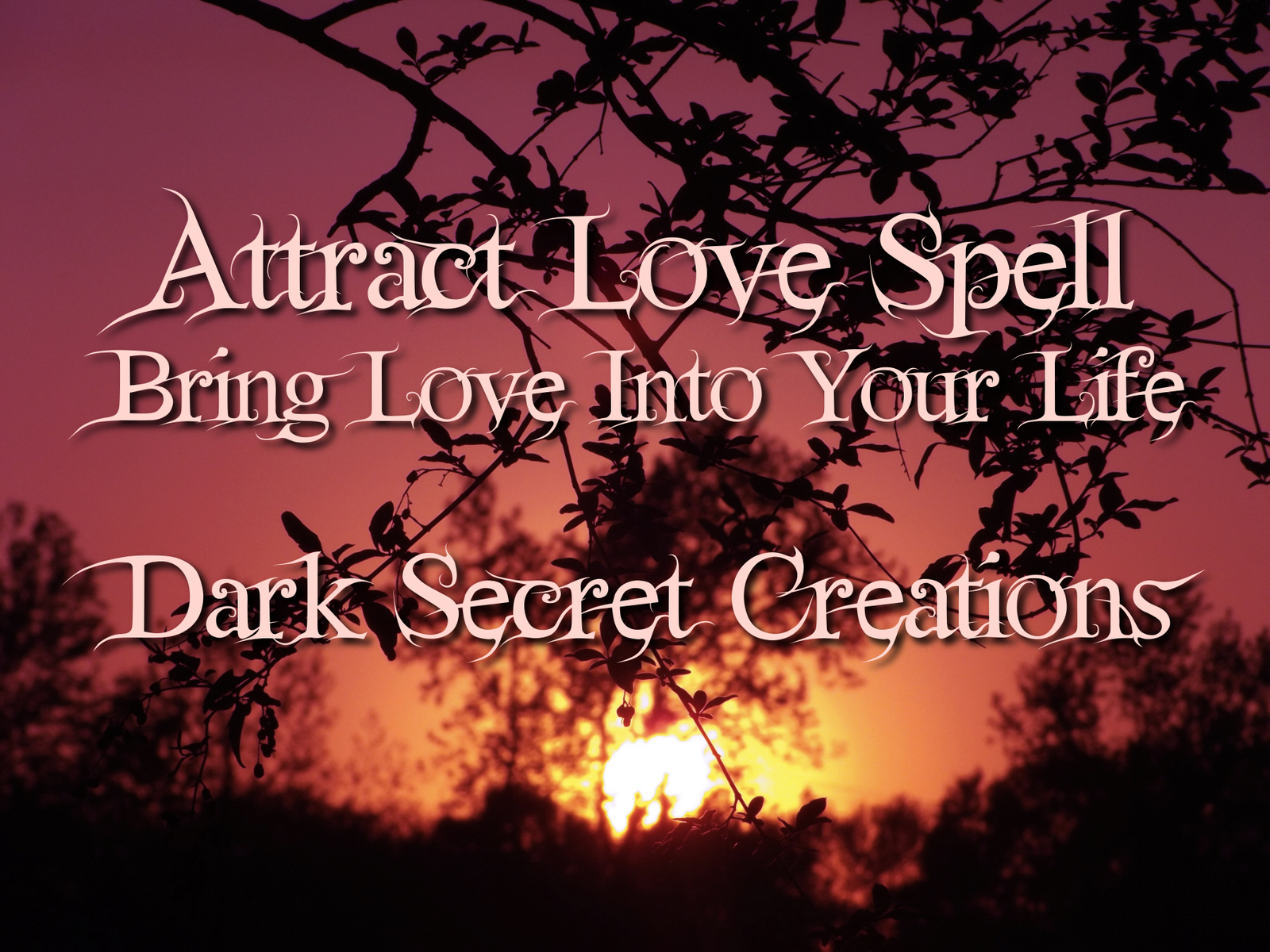 Attract love spell