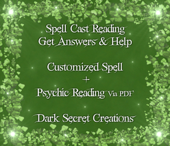 Spell Cast Reading, Custom Spell And Psychic Re... - $30.00