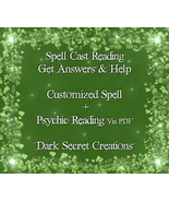Spell Cast Reading, Custom Spell And Psychic Reading Via PDF, Photograph... - $60.00