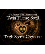 Twin Flame Spell Cast, Attract Your Other Half Spell, Powerful Ancient R... - $30.00