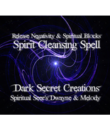 Spirit Cleansing Spell, Ritual To Release Negat... - $30.00