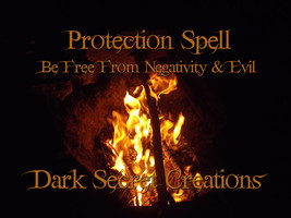 Protection Spell Cast, Powerful Ritual To Protect From Evil & Negativity - $30.00
