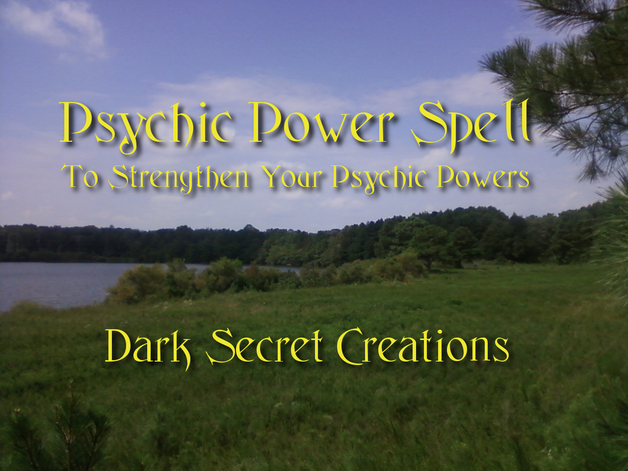 Psychic power spell