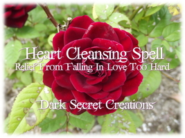 Heart Cleansing Spell, Powerful Ritual Performed To Cleanse The Heart - $30.00