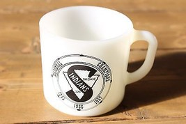 Vintage 1957 Anchor Hocking Skokie Illinois Indians National Champions Mug - $29.70