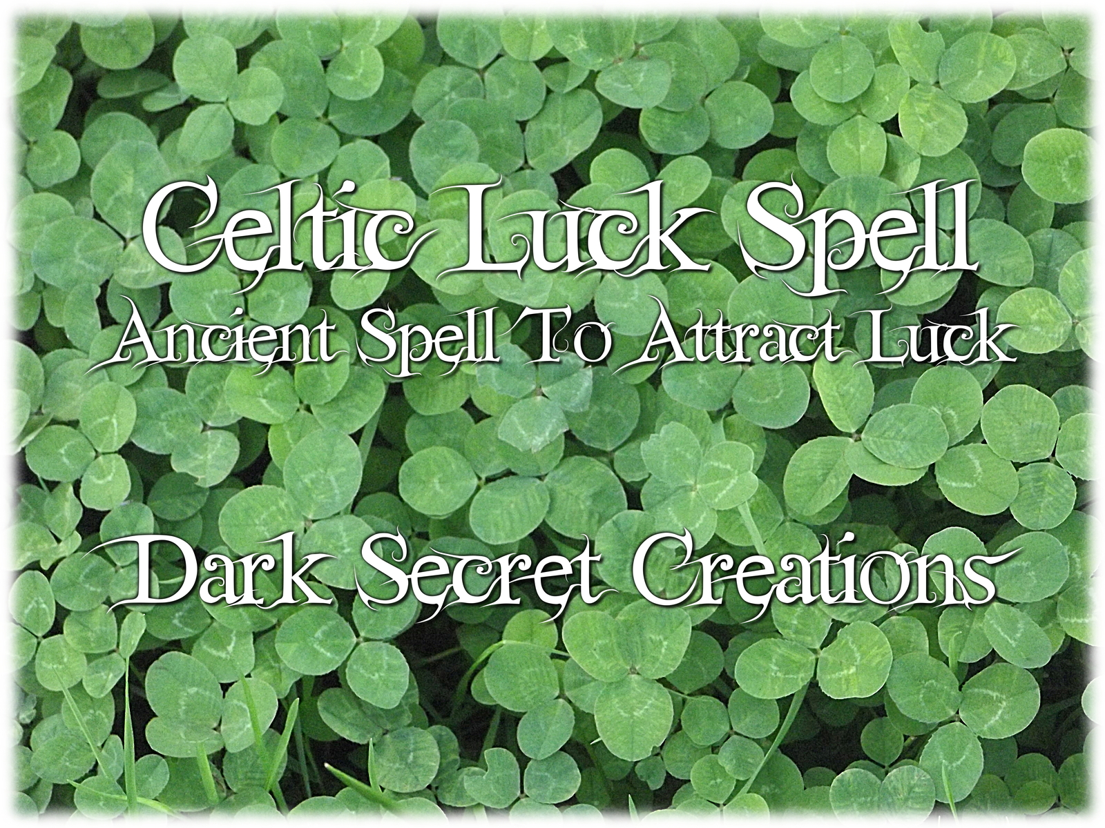 Celtic luck spell