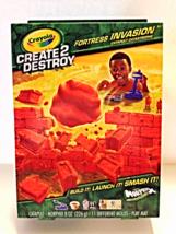 Crayola Create 2 Destroy Fortress Invasion Catapult Catastrophe Morphix Mold Set - $8.00
