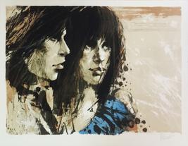 "Aldo Luongo ""Romance"" 1970 - Signed Lithograph ... - $1,200.00"